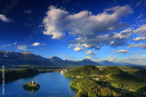 Foto op Plexiglas Landschappen Bled Lake, Slovenia, Europe
