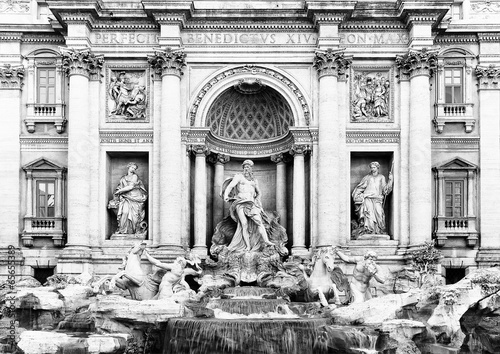 Fontana di Trevi in Rome, Italy, Europe