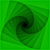 Graphic design of tunnel blades spiral pattern