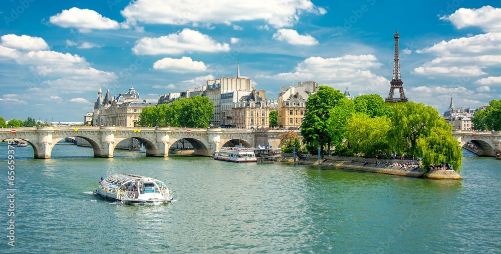 Fototapety, obrazy: Berges de la Seine à Paris