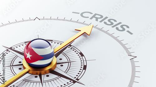 Photo Cuba Crisis Concept.