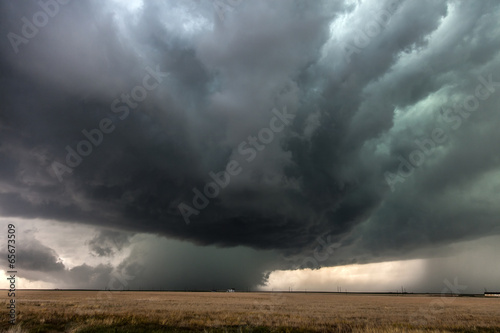 Thunderstorm in the Great Plains