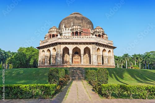Stickers pour porte Delhi Lodi Gardens
