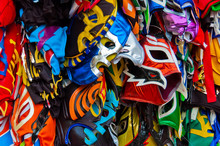Colorful Wrestling Masks