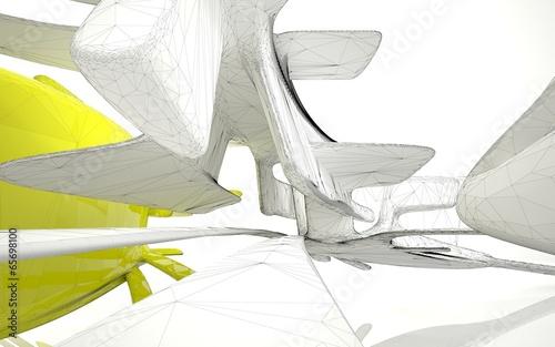 Architectural background, spatial design.