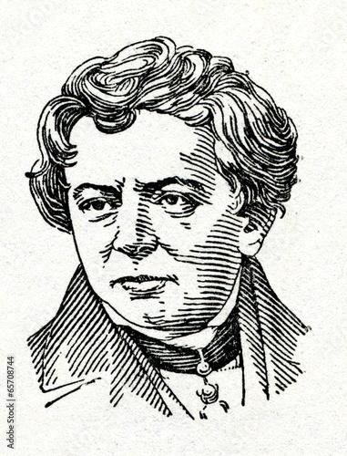 Cuadros en Lienzo Georg Ohm, físico y matemático alemán