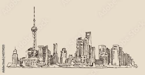 chiny-architektura-miasta-vintage-ilustracji-styl-grawerowany