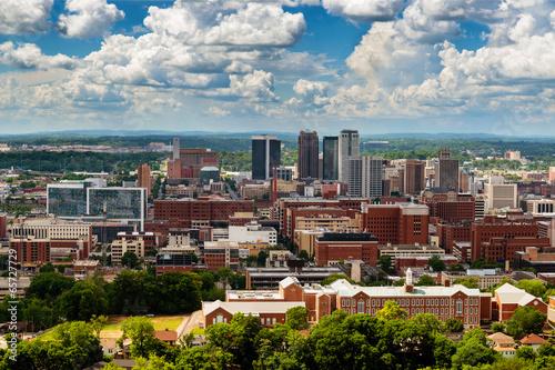 Photo Downtown Birmingham, Alabama, from Vulcan Park