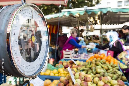 Fotografía  markt,marktstand,wochenmarkt
