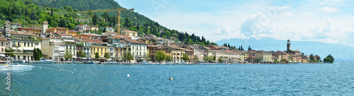 Aluminium Prints New Zealand Salo town at the lake Garda, Italy