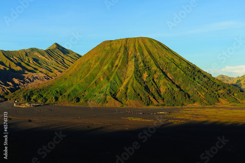 Spoed Foto op Canvas Vulkaan Landscape of Mount Bromo Volcano, Indonesia