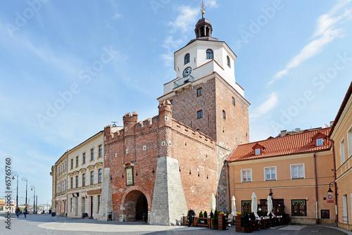Cracow Gate in Lublin © Tomasz Warszewski