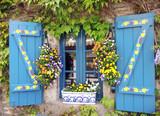 Blumenfester - window with flowers