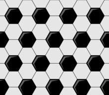 Background Pattern Of Soccer B...
