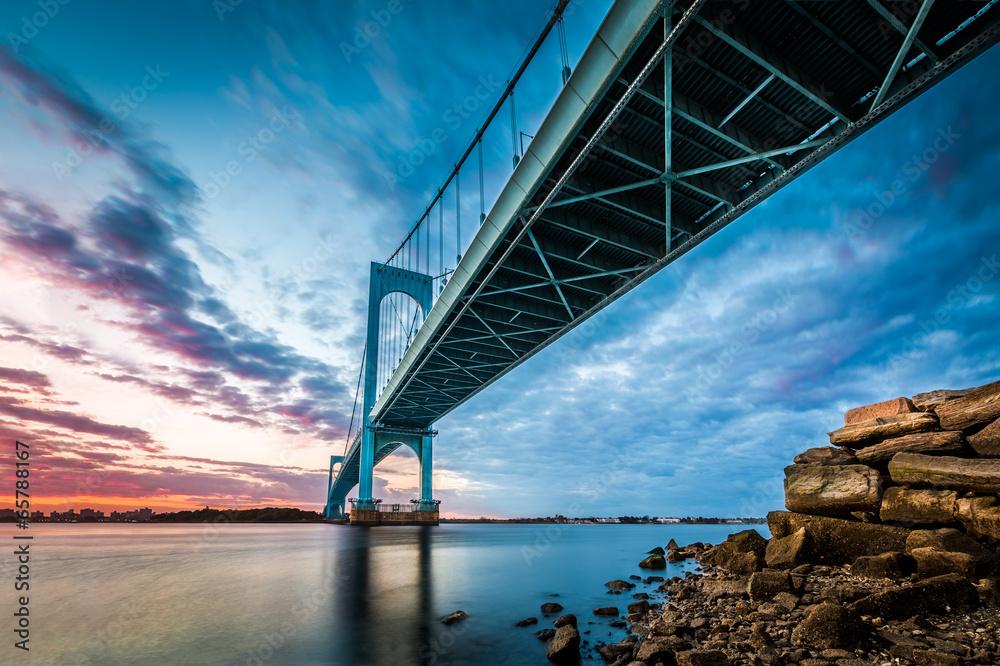 Fototapety, obrazy: Bronx Whitestone Bridge