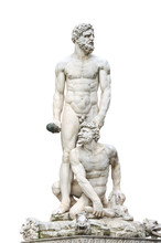 Statue Hercules And Cacus Fron...