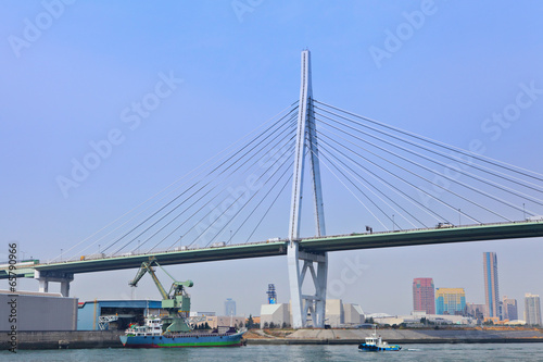 Staande foto Rotterdam Osaka port