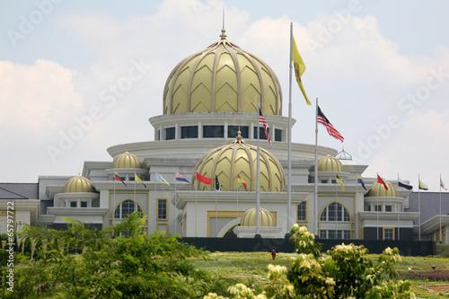 Foto auf Acrylglas Kuala Lumpur Istana Negara Nationalpalast -Kuala lumpur