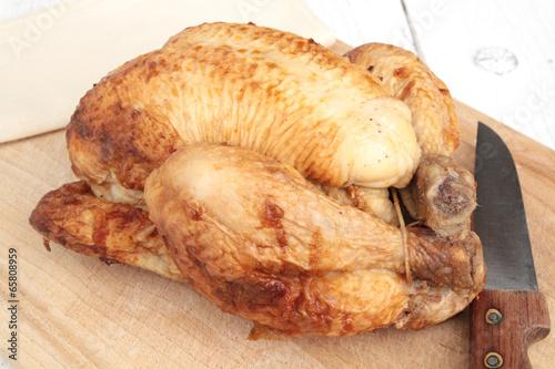 Vászonkép poulet rôti