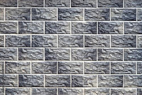 Wand in grau