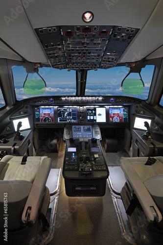 Photo Modern airliner