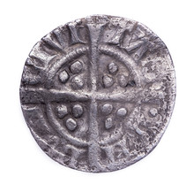Hammered Silver Penny Of Edwar...