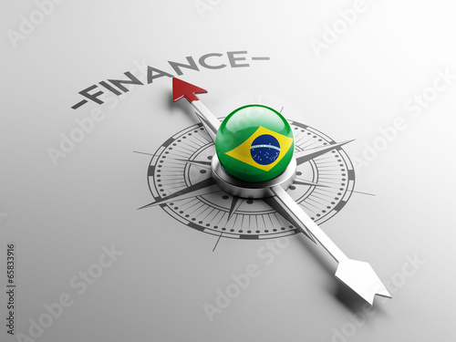 Brazil Finance Concept Canvas Print