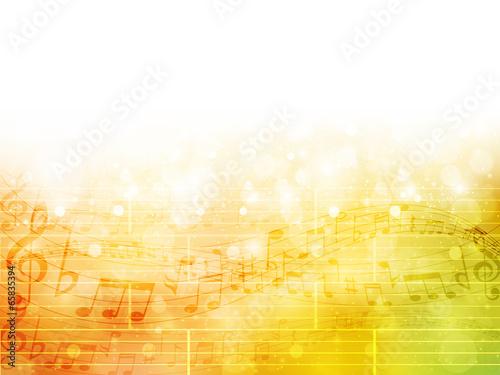 Fototapeta 音符 楽譜 音楽