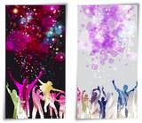 Set Banner disco party