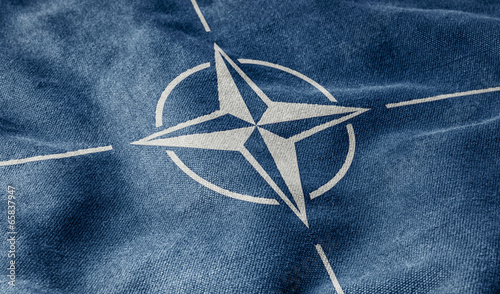 Flagge der NATO Wallpaper Mural