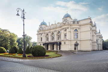 Slowacki's theater in Krakow