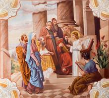 Little Jesus Teaching In The T...