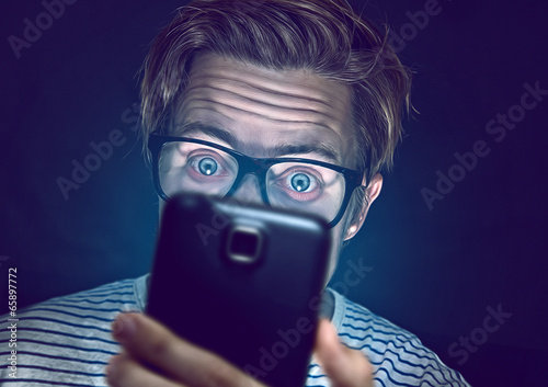 Fotografie, Obraz  Smartphone Junkie