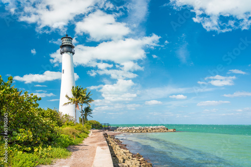 Valokuva  Famous lighthouse at Key Biscayne, Miami