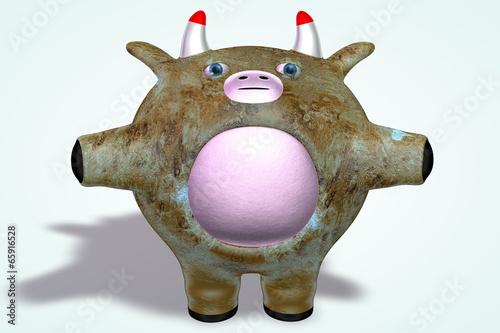 Fotografie, Obraz  Venus Planet Cow