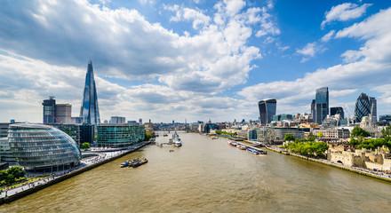 Skyline of London, UK