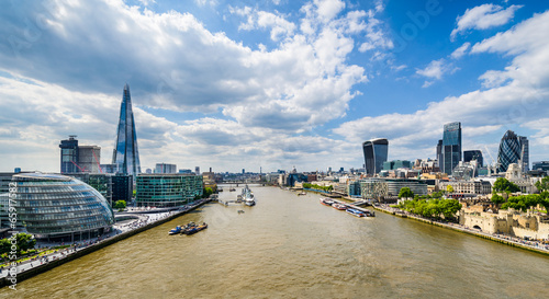 Foto op Canvas Londen Skyline of London, UK