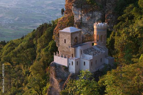 Fotografie, Obraz  Erice Duomo Chiesa Madre