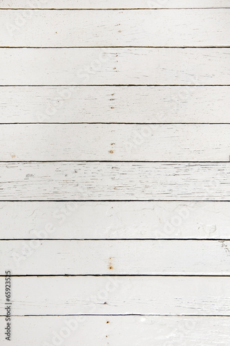 Poster Bois Old white wood texture