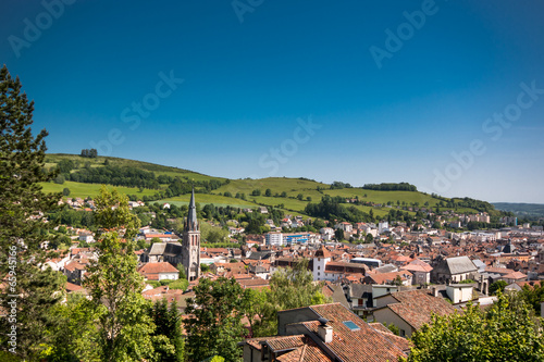Fotografie, Obraz  Aurillac, Cantal, Auvergne