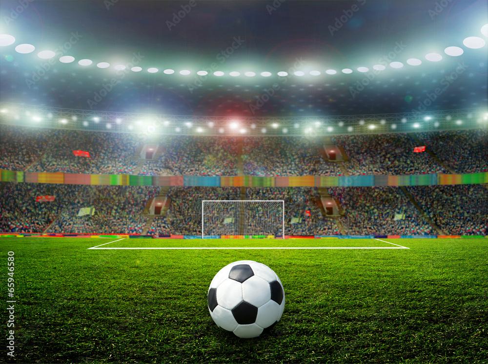 Fototapeta Soccer ball