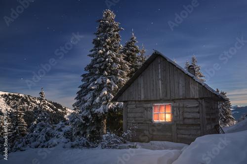 Foto-Leinwand ohne Rahmen - house (von ivan kmit)