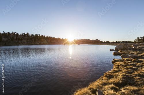 Sierra lake Sunrise