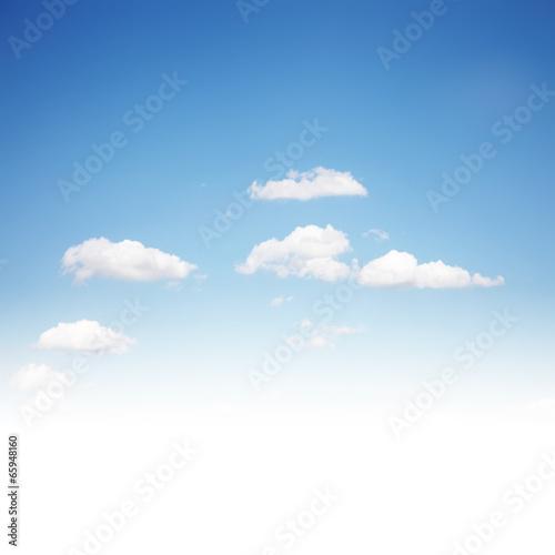 Fotografie, Obraz  Schöner Himmel mit Wolken