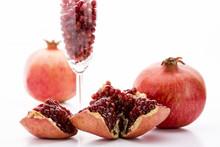 Granatapfel Und Kerne