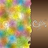 Coffee Hand-Drawn Vector Illustration.