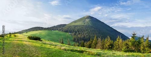 Obraz mountain panorama - fototapety do salonu