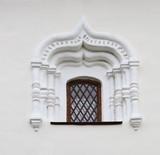 Window of ancient building