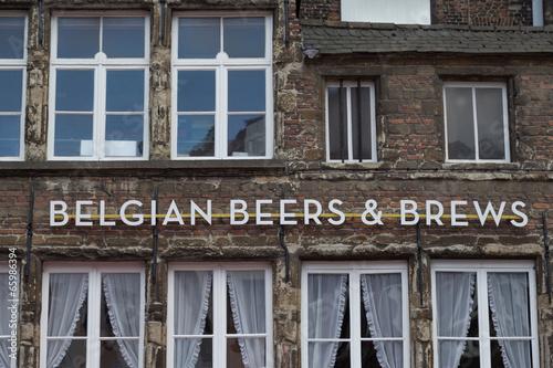 Foto op Plexiglas Antwerpen Belgian Beers and Brews