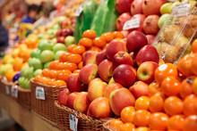 Fruits On A Farm Market